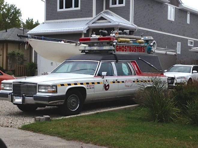 Geeked out hearse