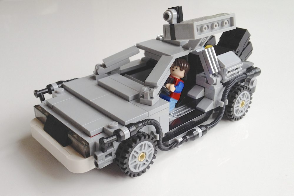 The Lego Cuusoo DeLorean