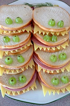 Monster Sandwiches © Sophie Brown