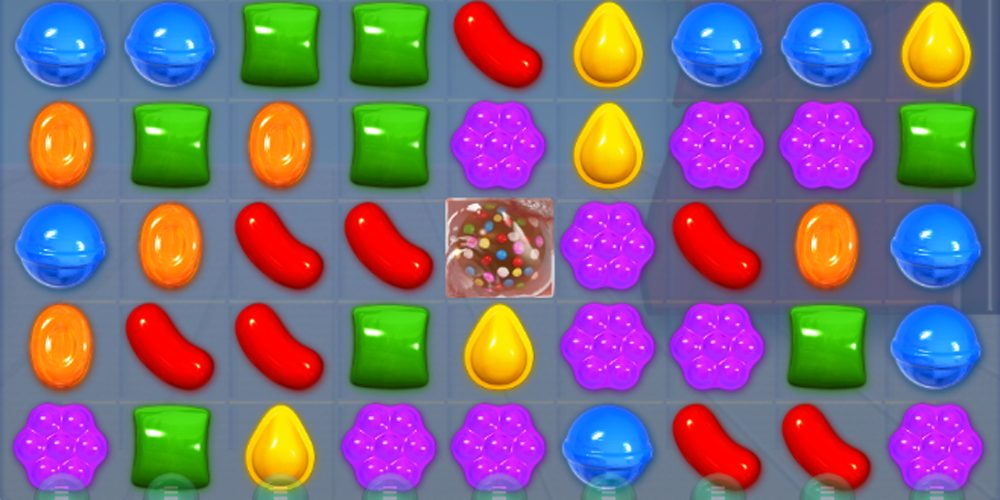 Screenshot of Candy Crush
