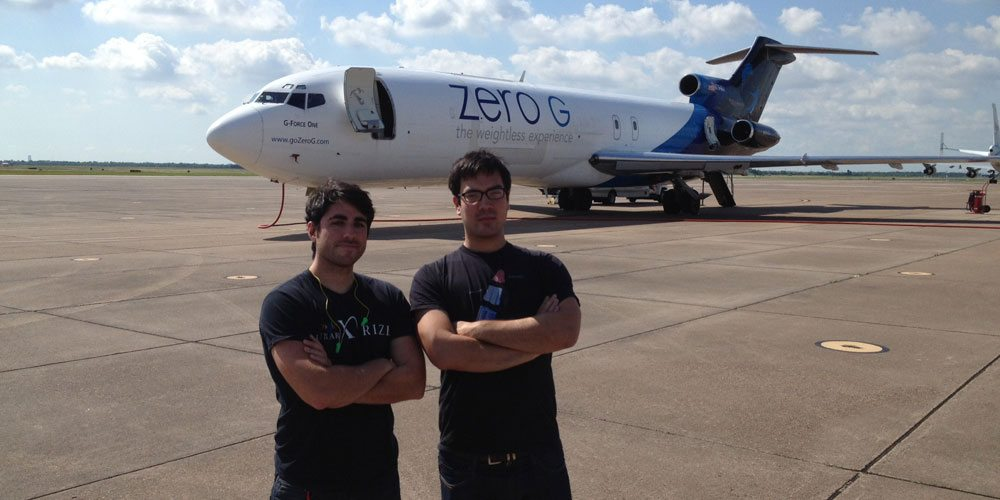"""Mandatory """"cool guys in front of plane"""" shot."""