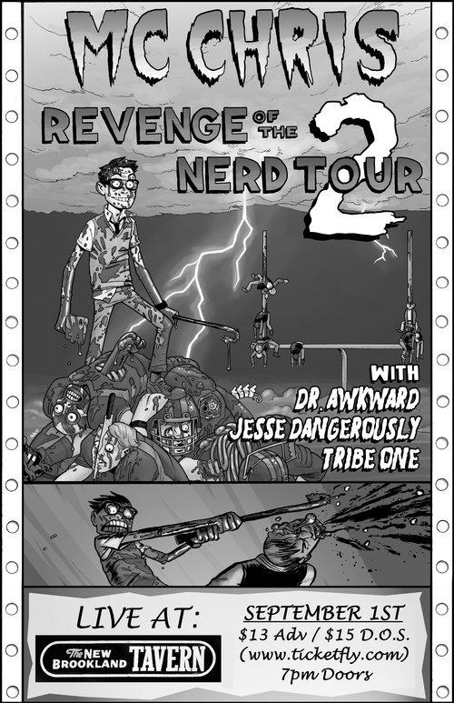revenge of the nerd 2 tour