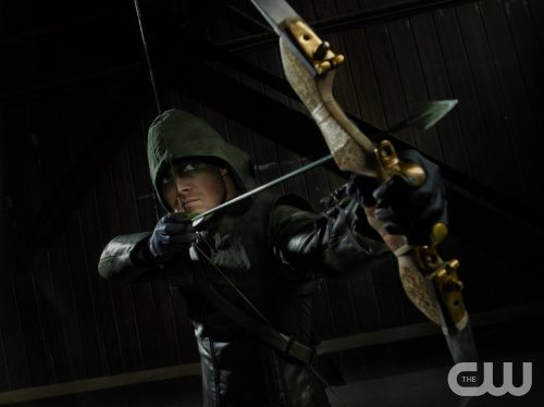tephen Amell as Arrow Photo: Kharen Hill/The CW © 2012 The CW Network. All Rights Reserved