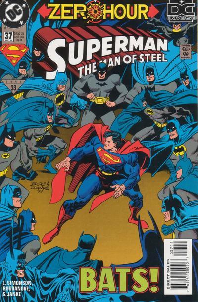 Superman Man of Steel #37  Image: Copyright DC Comics