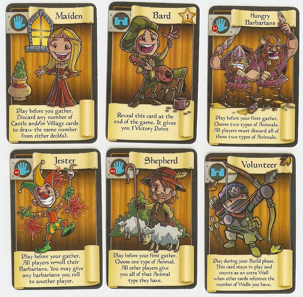 Market cards