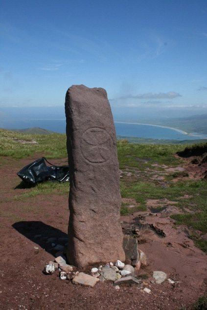 Arraglen stone, Mt Brandon. Image: Artec 3D Scanners website.