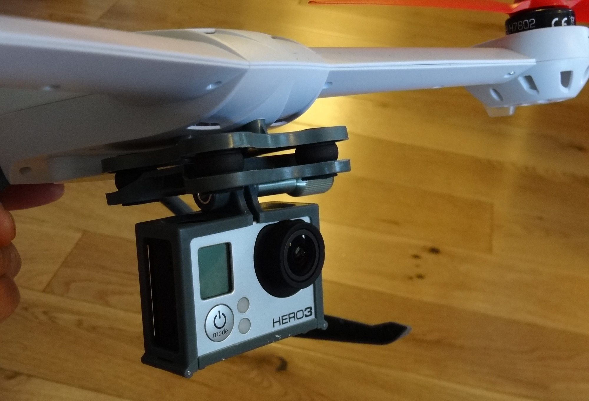 Blade 350 QX with GoPro