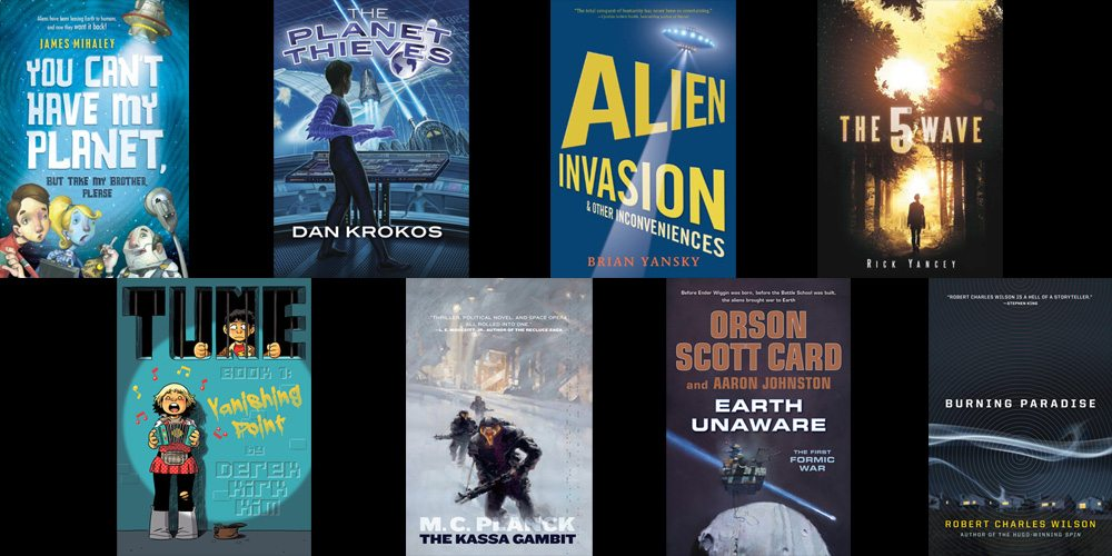 Aliens books