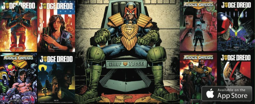 Judge Dredd Digital Graphic Novels