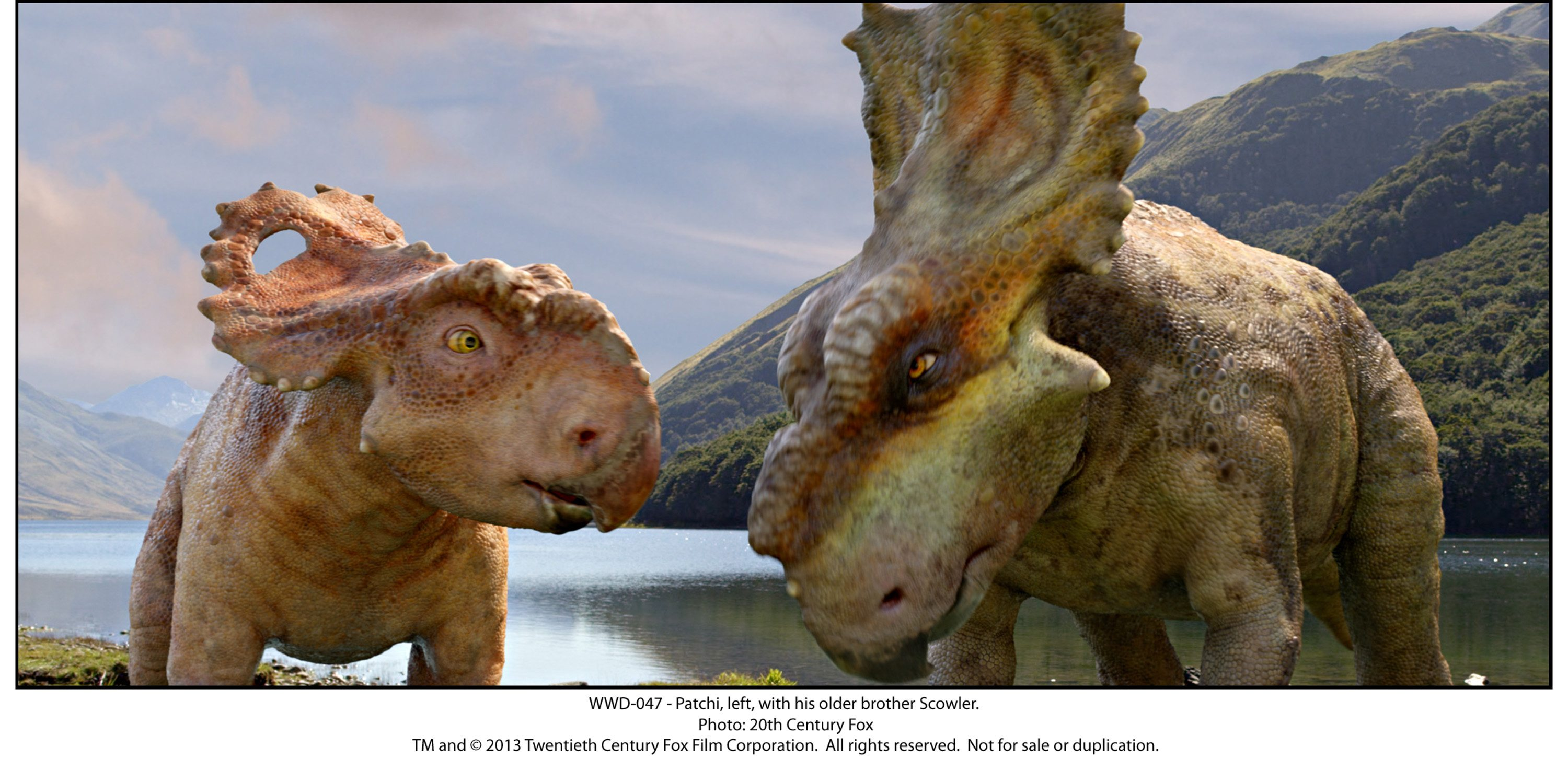 Walking With Dinosaurs: The Movie.
