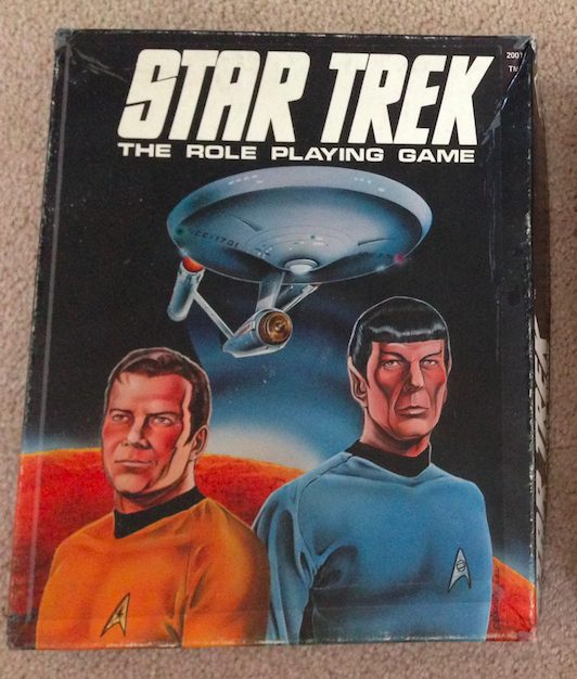 Star Trek RPG 1st Edition Box