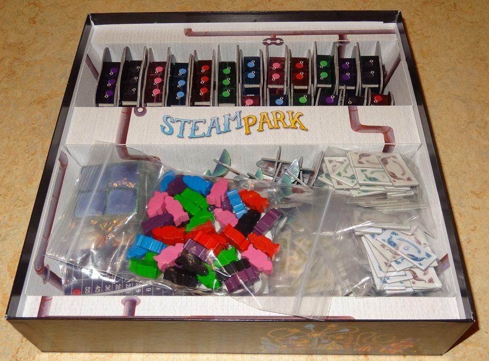 Steam Park box
