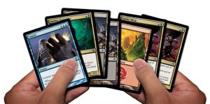 An opening hand of 7 cards. Image: Wizards of the Coast