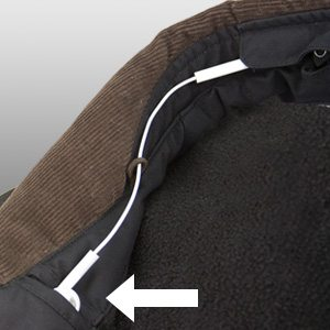 The PAN's included BudBucket pockets. Image: http://www.scottevest.com/