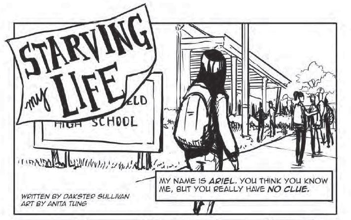 Starving My Life  Art by Anita Tung