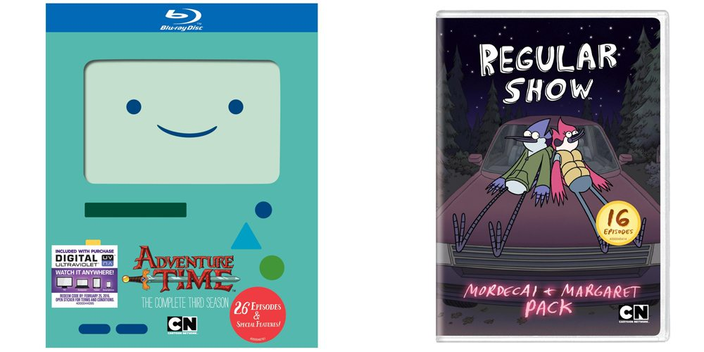 adventure time and regular show
