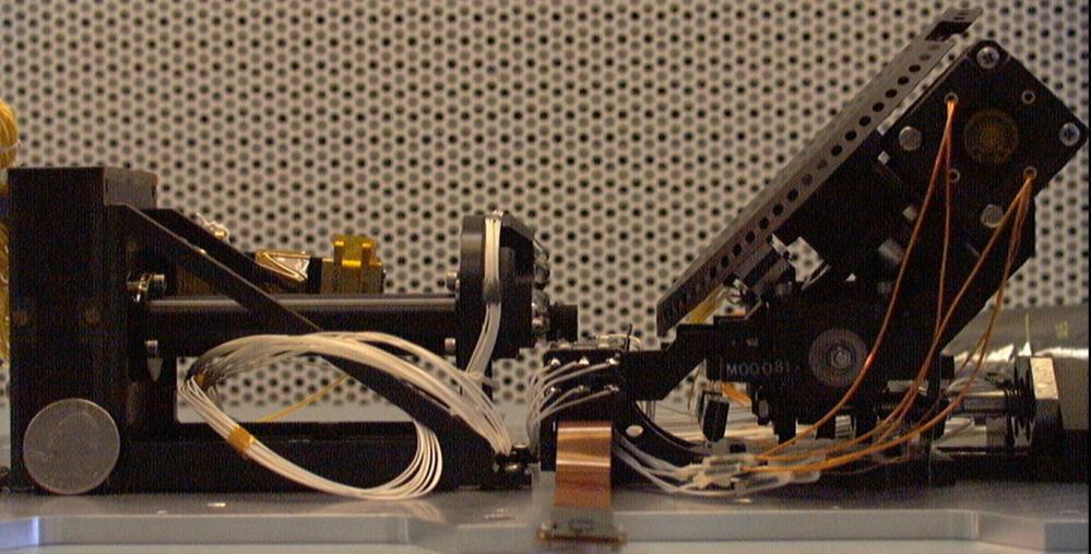 The microscope in question. Image credit: NASA/JPL-Caltech/UA
