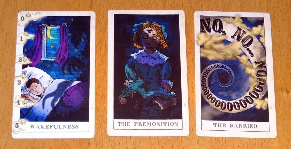 Pleasant Dreams starting cards