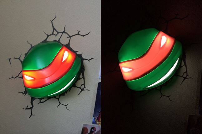 TMNT 3D Light  Image: Dakster Sullivan