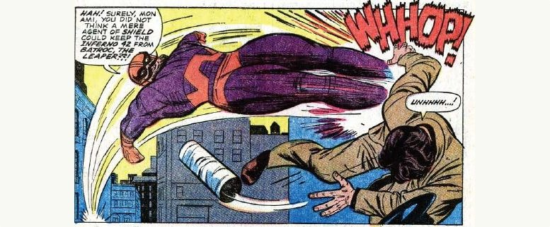 Batroc the Leaper from Tales of Suspense #75,