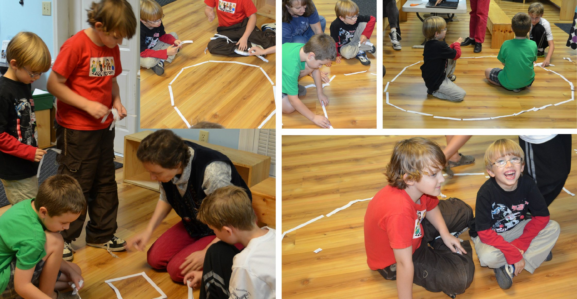 math circles, math play,
