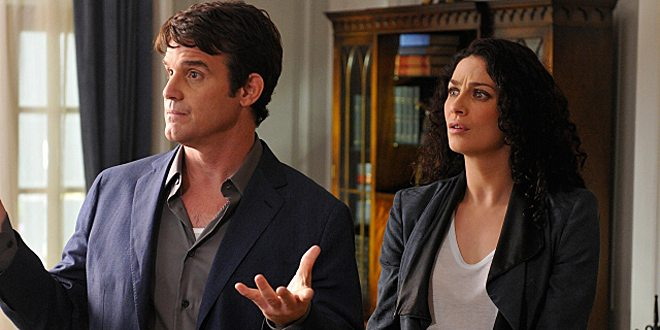 Pete & Myka in S5E02 © SyFy