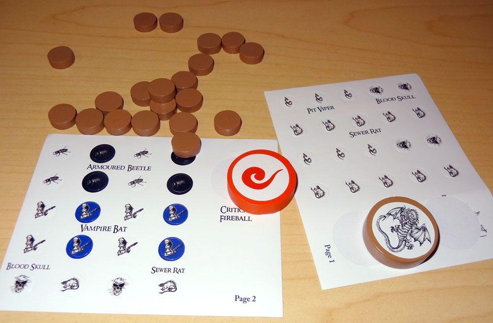 Hordes of Vermin stickers