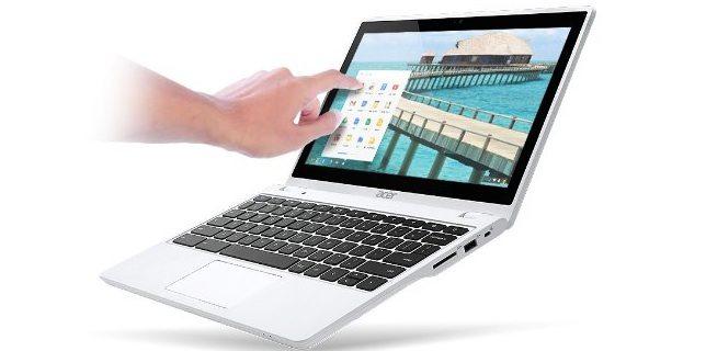 Acer C720P Chromebook in Moonstone White