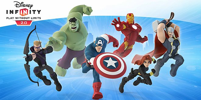 Disney Infinity 2.0: Marvel Super Heroes Launch Line-Up © Disney/Marvel