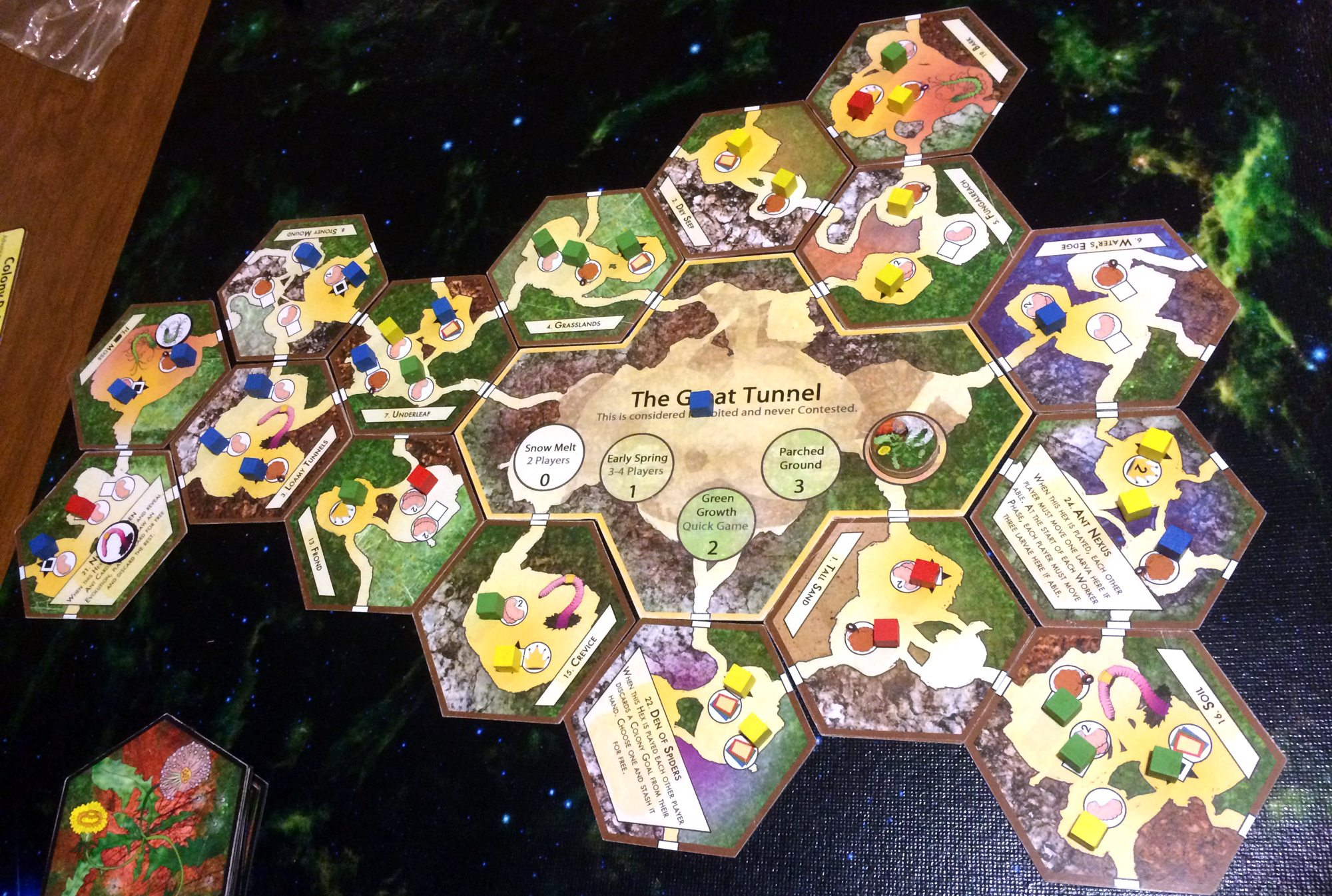 March of the Ants board