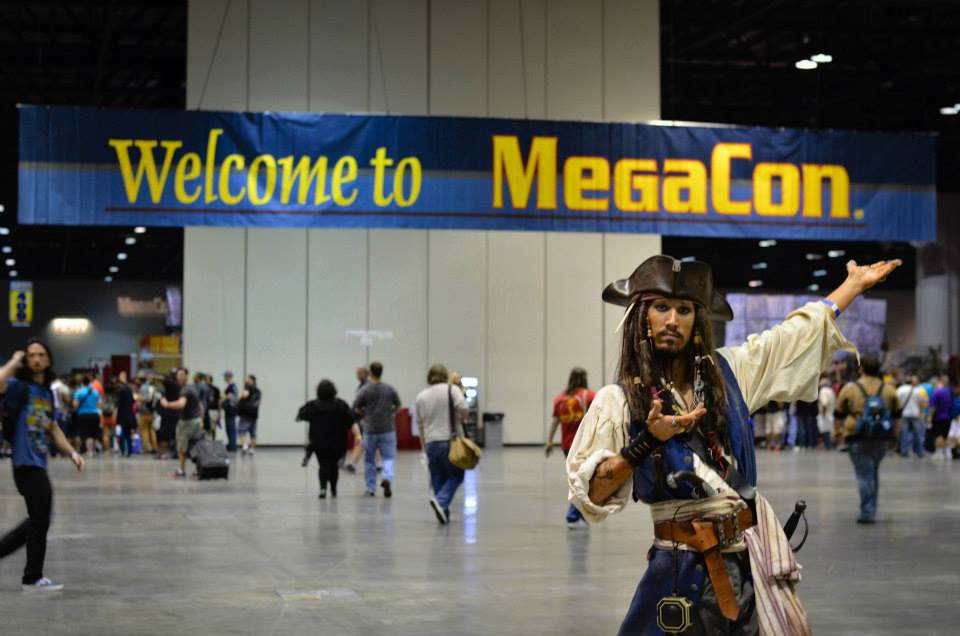 Welcome to MegaCon.  Image Savanna Kiefer