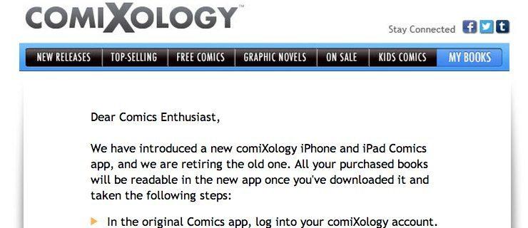 comixology screen shot
