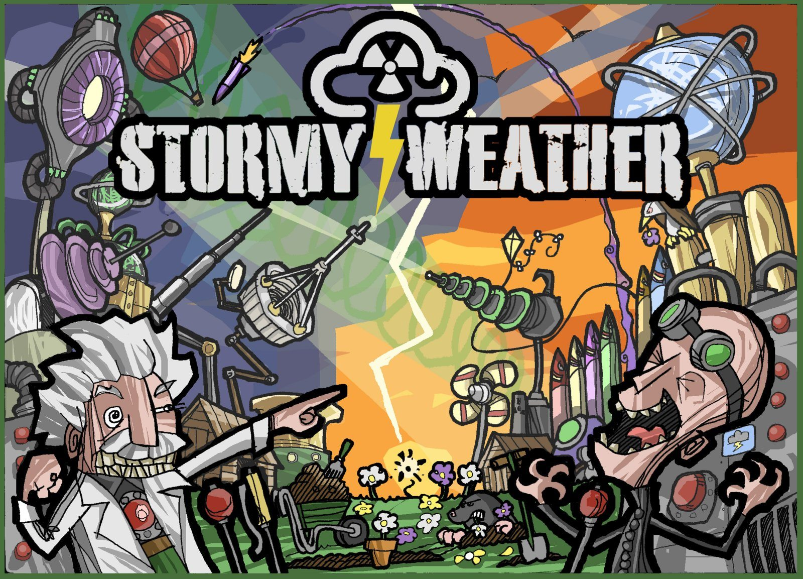 Stormy Weather box cover