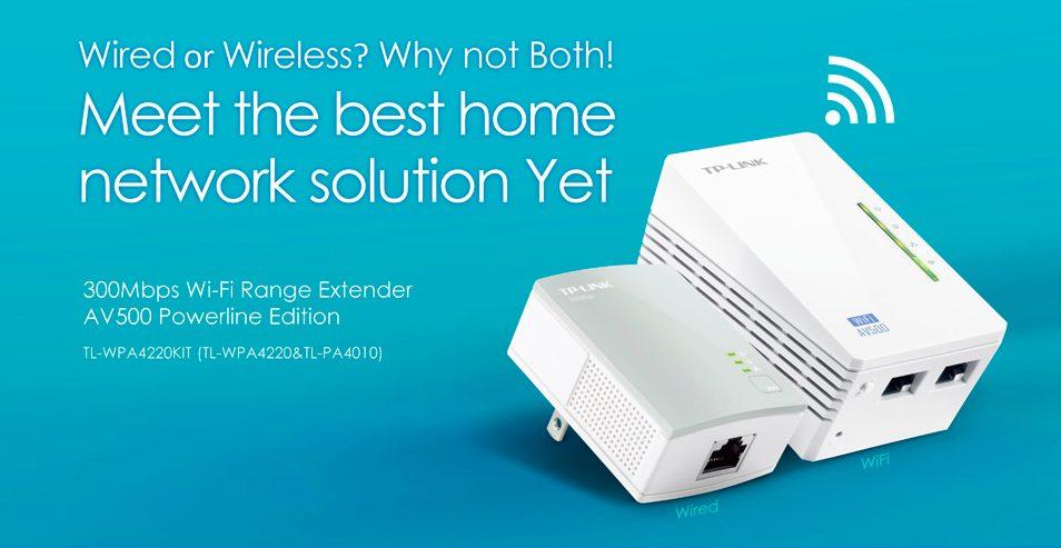 HomePlug - WiFi Range Extender