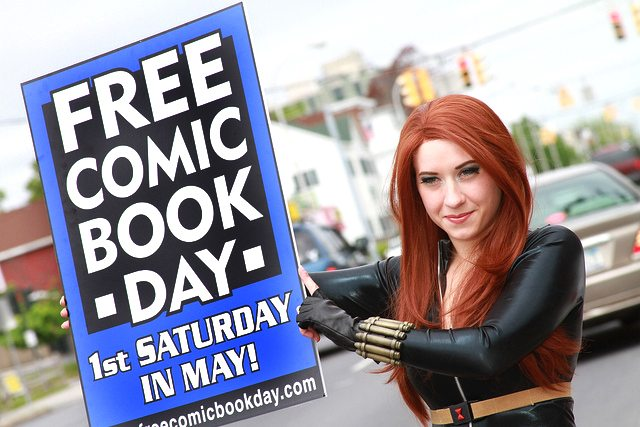 Free Comic Book Day is Saturday, May 3rd!