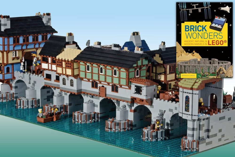 Warren Elsmore's London Bridge model from Brick Wonders