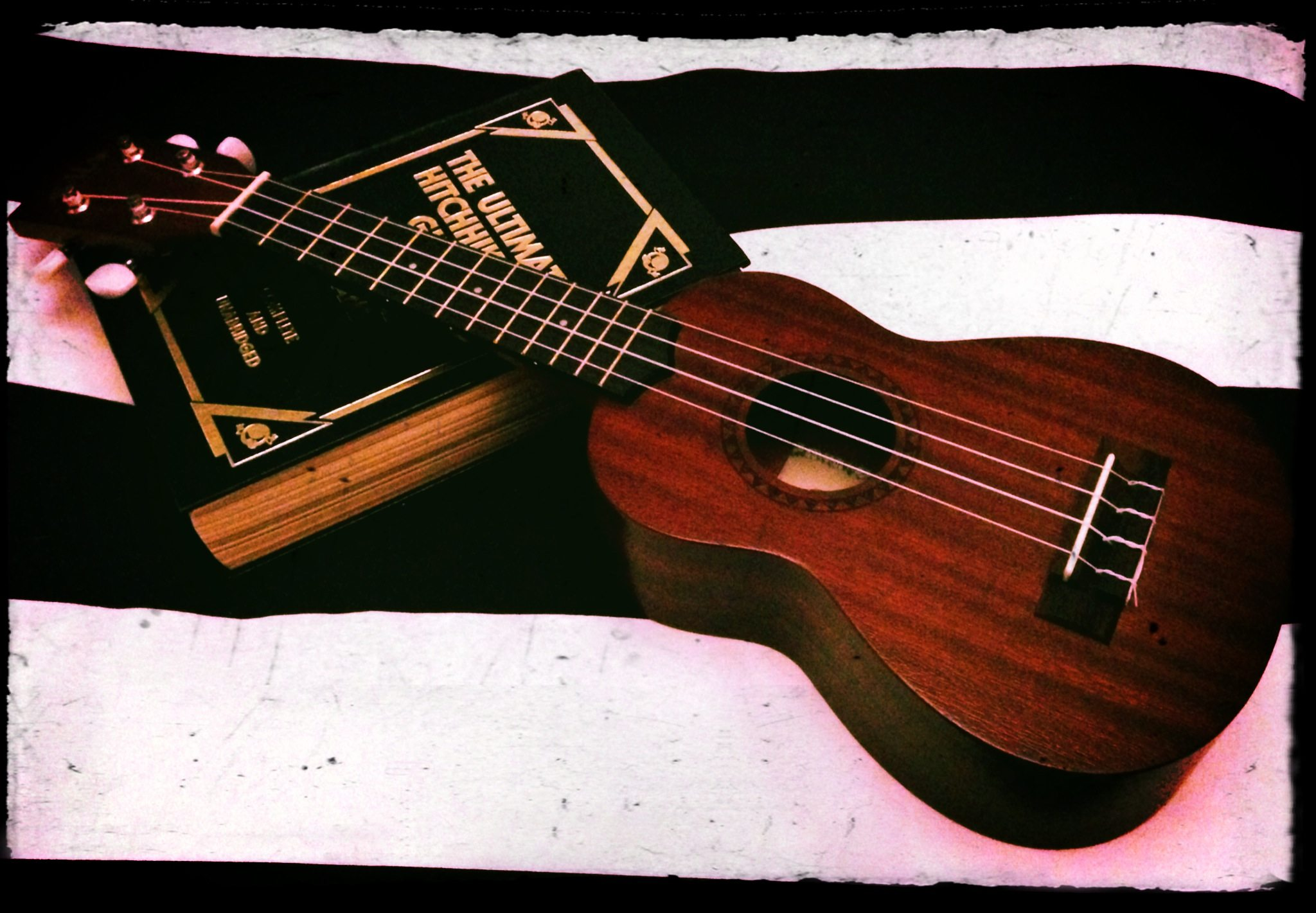 My ukulele. Photo by Ariane Coffin.