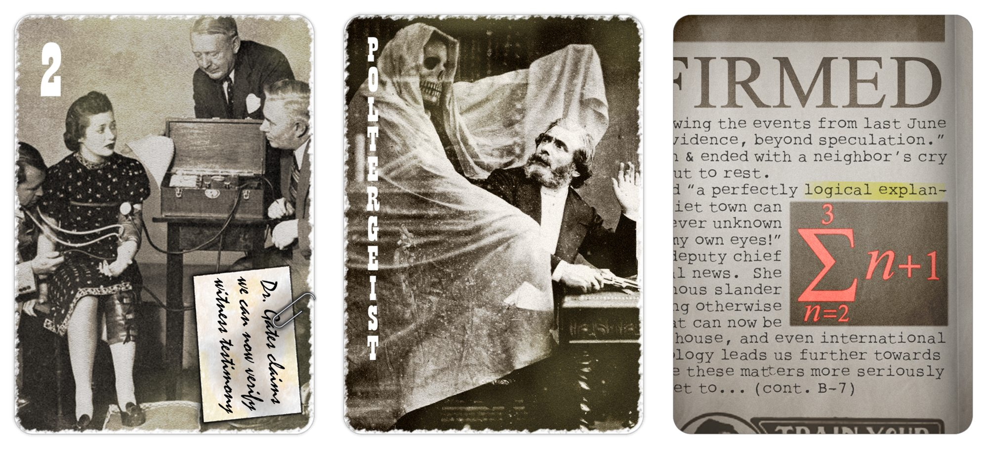 paranormal Investigation cards