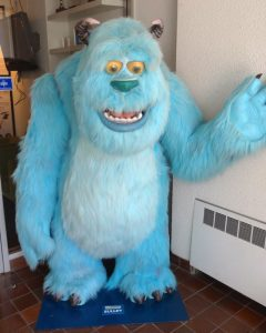 Monsters Inc.'s Sully at Spin Master HQ