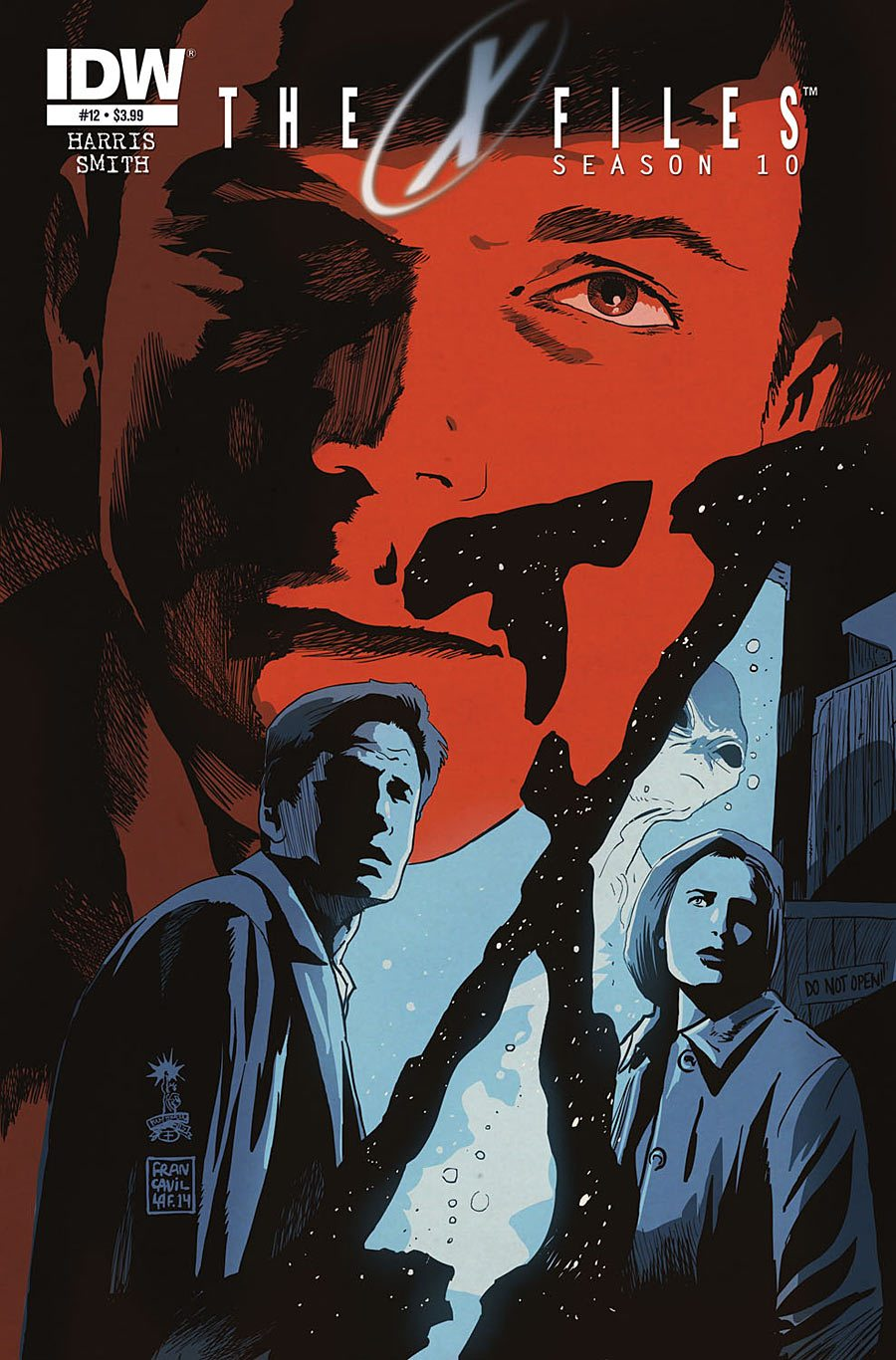 The X-Files Season 10 #12  Image IDW Publishing
