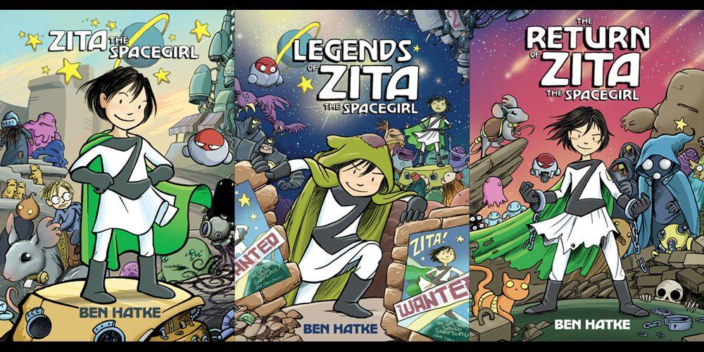 Zita the Spacegirl trilogy
