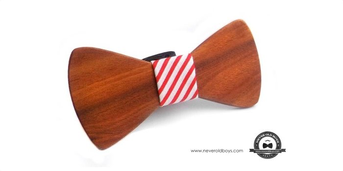 Annapolis Wooden Bow Tie
