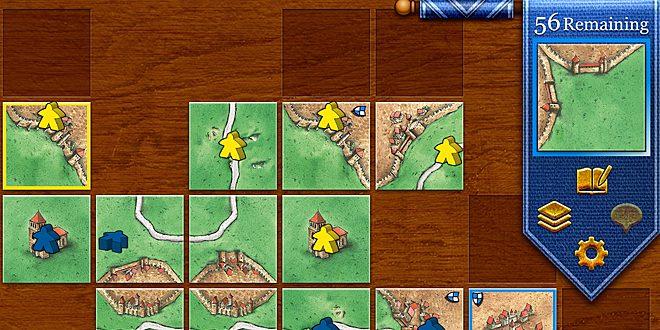 Carcassonne © Z-Man Games/Coding Monkeys