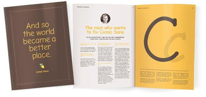 Comic Neue Souvenir Book