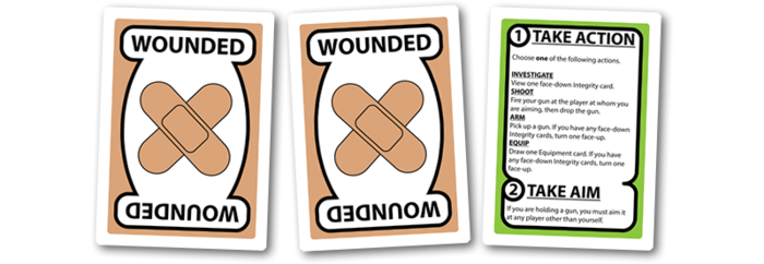 Good Cop Bad Cop wounded cards