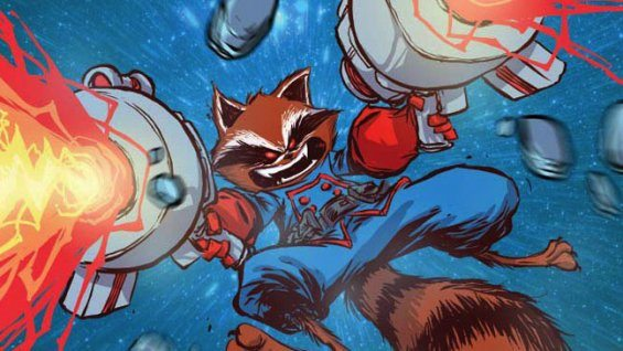 Rocket Raccoon  Image: Marvel