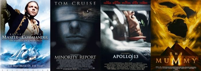 Some movie posters with Trajan.