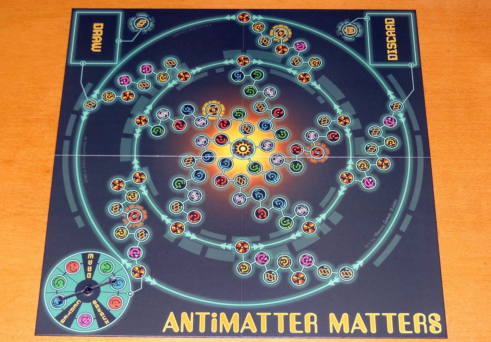 Antimatter Matters board