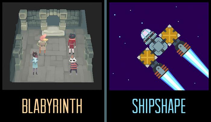 Blabyrinth and Shipshape