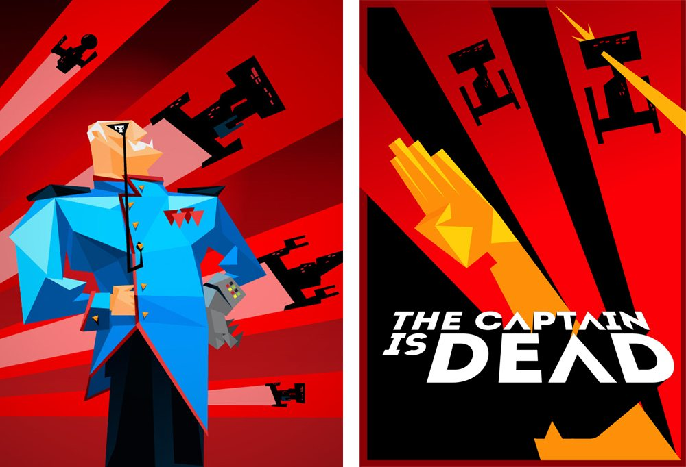 The Captain Is Dead - cover art